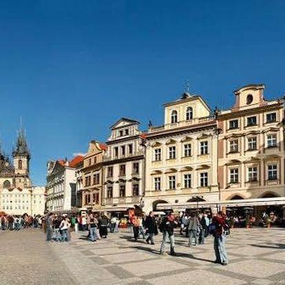 Romantický Valentýnský víkend v Grand hotelu Praha **** pro dva.