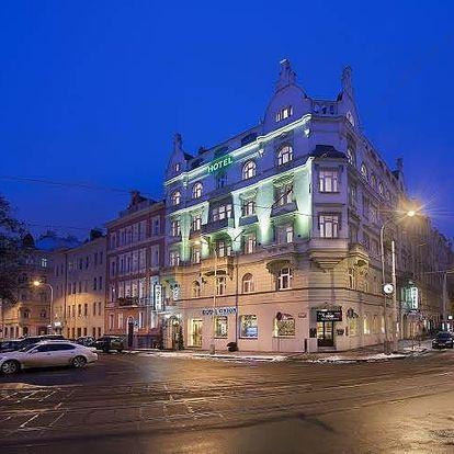 Valentýnský víkend v centru Prahy v4 * hotelu Union pro dva.