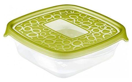 CURVER TAKE AWAY Set 5 x plastových dóz 0,6L - zelený