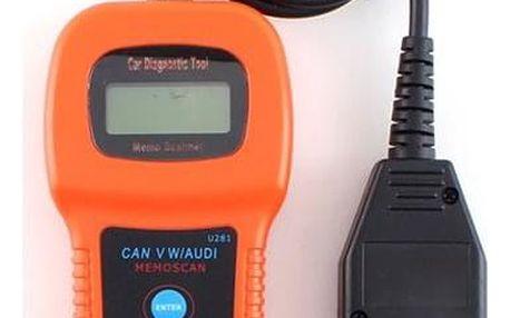 Diagnostický skener pro automobily U 281 - dodání do 2 dnů