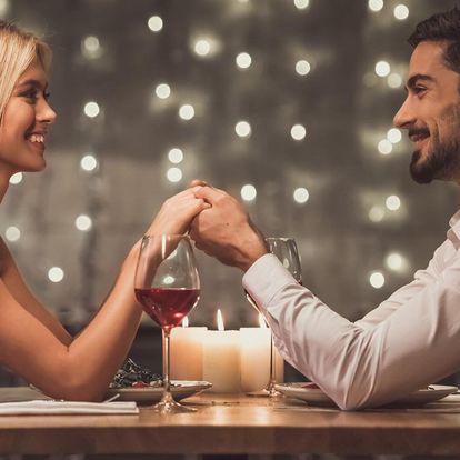 Valentýnský pobyt s wellness a večeří pro dva