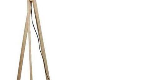 Tempo Kondela Stojací lampa Lila 7, šedá