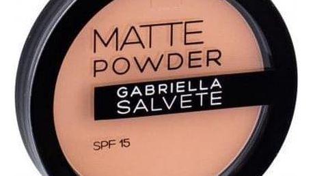 Gabriella Salvete Matte Powder SPF15 8 g matující pudr pro ženy 04
