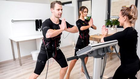 EMS trénink s trenérem: až 5 lekcí pro 1-2 os.
