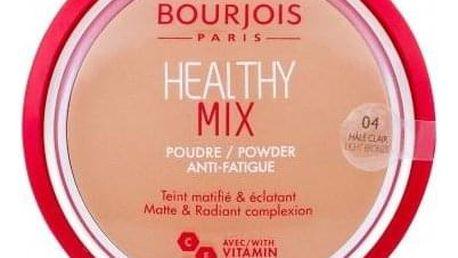 BOURJOIS Paris Healthy Mix Anti-Fatigue 11 g rozjasňující matující pudr pro ženy 04 Light Bronze