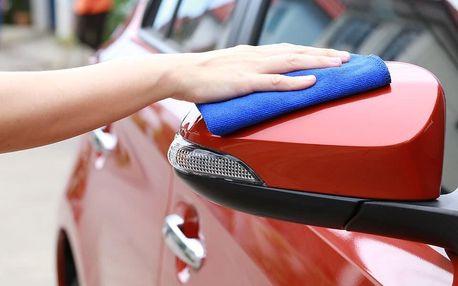 Suché mytí vozu nanokosmetikou – místo určíte vy