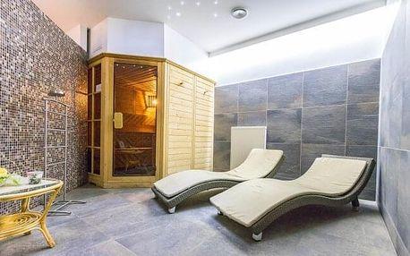 Východní Čechy: Hotel Tatra *** s polopenzí, privátním wellness a procedurami