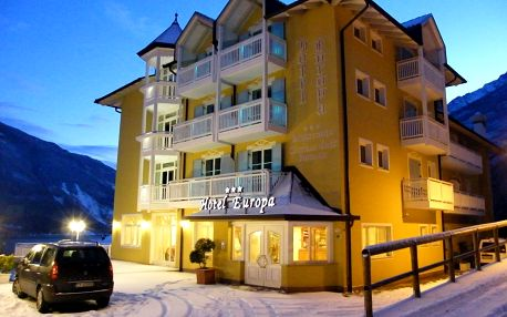 4-8denní Paganella se skipasem   Hotel Europa – Molveno***   Ubytování, Polopenze a skipas
