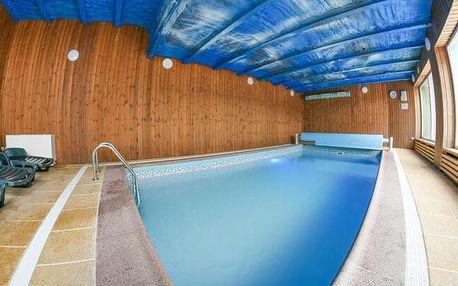 Vysočina: Penzion Grasel *** s polopenzí, bazénem, vířivkou a masážním křeslem