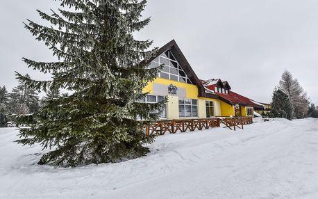 Zima ve Vysokých Tatrách s polopenzí