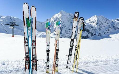 Vysoké Tatry 700 m od skiareálu v Penzionu Encián s polopenzí a wellness