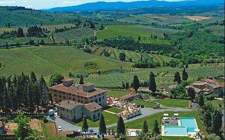 Nádherný pobyt v Toskánsku ve vile San Filippo uprostřed vinic. Dítě do 12 r. zdarma