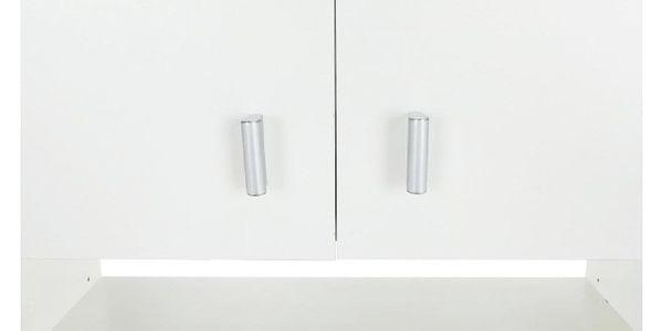 Skříňka nad pračku, bílá, NATALI2