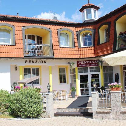 Penzion Hortenzie ve Františkových Lázních s polopenzí s Aquafórem a polopenzí