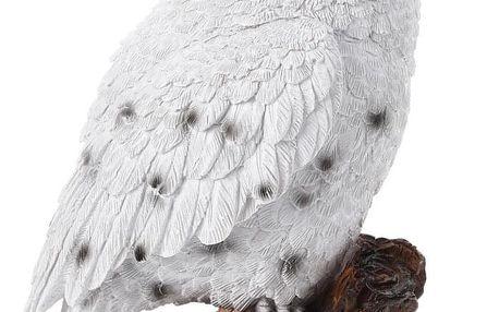 Home Styling Collection Dekorace na zahradu, odstrašovač ptáků - Výr sněžný