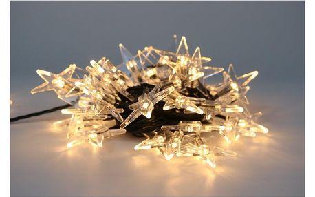 Marimex   Řetěz s hvězdami 40 LED   18000304