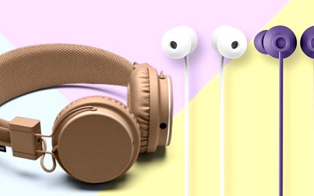 Sluchátka Urbanears: špunty i přes uši