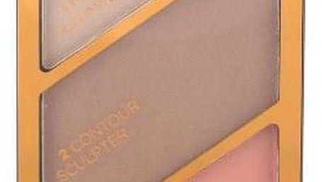 Rimmel London Kate 18,5 g konturovací paletka pro ženy 002 Coral Glow