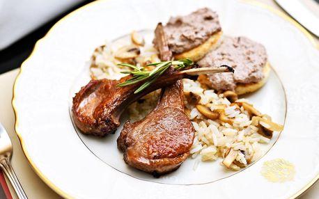 5* degustační menu v restauraci Franz Josef pro 2