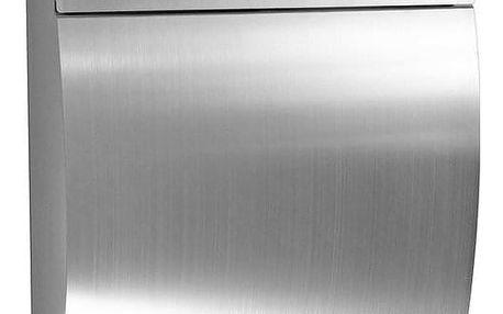 RICHTER BK931.N Poštovní nerezová schránka Luxury, stříbrná