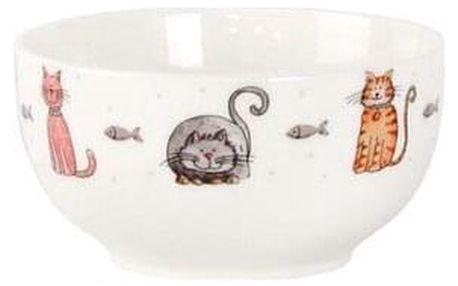 Toro Keramická miska Kočka, 500 ml