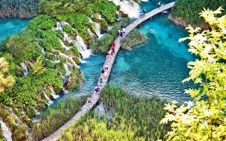 UNESCO výlet: busem na nádherná Plitvická jezera