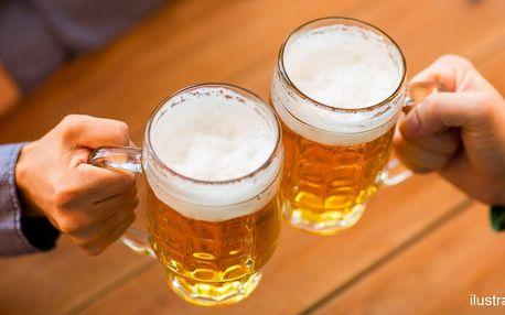 Metr piv v Panda baru: Radegast 12° nebo Kozel 11°