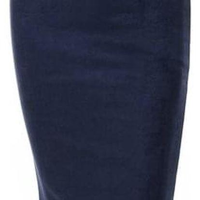 Semišová pouzdrová sukně - Velbloudí - velikost č. 3 - dodání do 2 dnů
