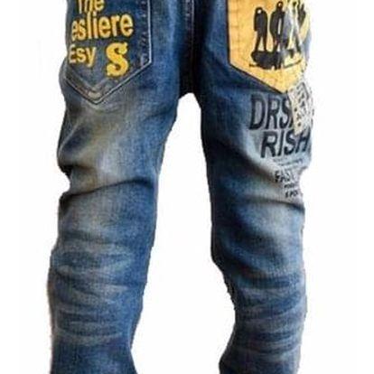Chlapecké džíny - 6 - velikost č. 5 - dodání do 2 dnů