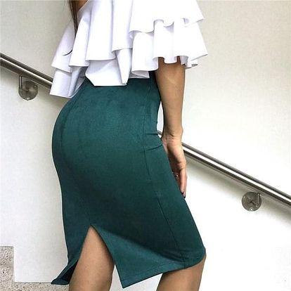 Dámská sukně Gloria - Béžová-velikost č. 4 - dodání do 2 dnů