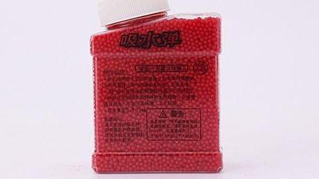 Kuličky v lahvičce - Červená - dodání do 2 dnů