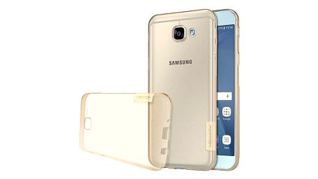 Transparentní zadní kryt pro Samsung Galaxy A8 2016 - Bílé - dodání do 2 dnů