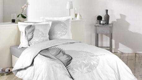 Douceur d'intérieur Bavlněné ložní prádlo NATINE EVE, 200 x 200 cm