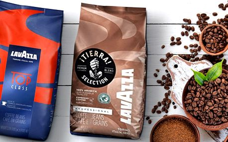 1 kg zrnkové kávy Lavazza: 3 druhy
