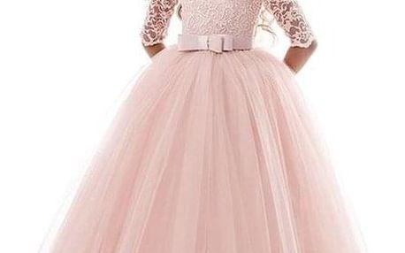 Princeznovské dívčí šaty - dodání do 2 dnů