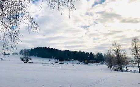 Zimní odpočinek na Vysočině v Kuklíku