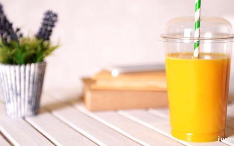 Hřejivé kaki: 0,5 l lahodného nápoje plného ovoce
