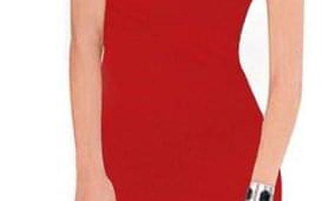 Jednoduché dámské šaty - 9-velikost č. 4 - dodání do 2 dnů