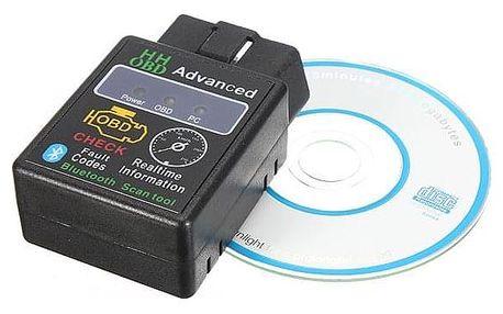 Bluetooth autodiagnostika OBD2 ELM327 - dodání do 2 dnů