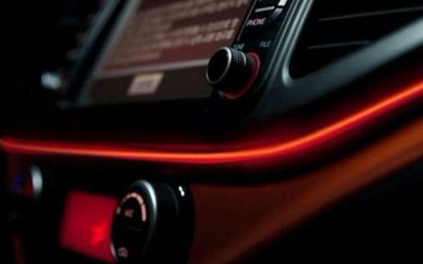 Dekorační páska do auta - červená - dodání do 2 dnů