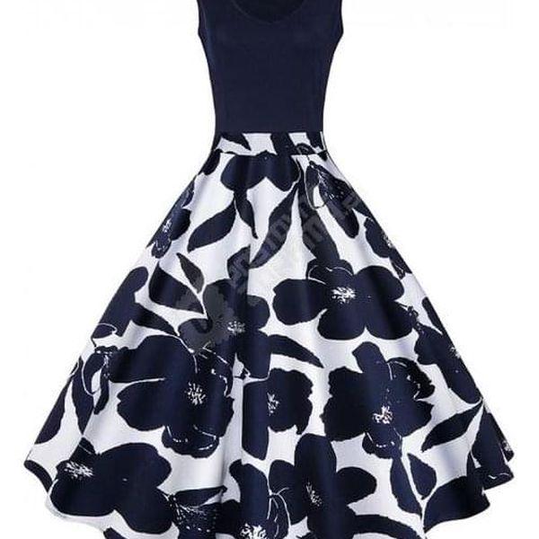 Dámské šaty ve stylu vintage - 4-XL - dodání do 2 dnů