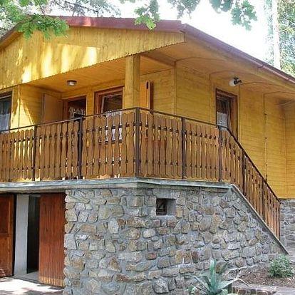 Rodinná pohoda pro 2 osoby v útulné chatce nedaleko Třeboně
