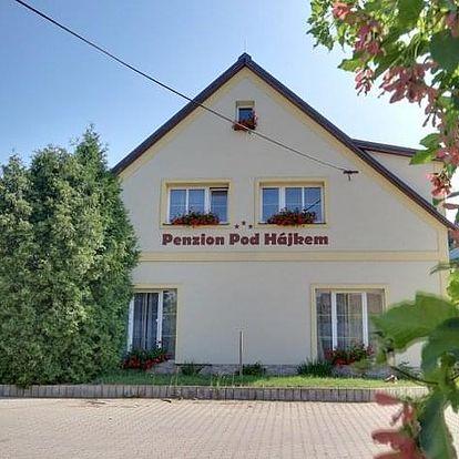 Pobyt v Podkrkonoší na 3 dny pro 2 osoby včetně snídaní