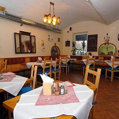Ubytování v Praze včetně snídaně nebo polopenze s lahví sektu