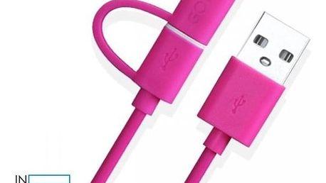 Praktický USB kabel elastického plastu