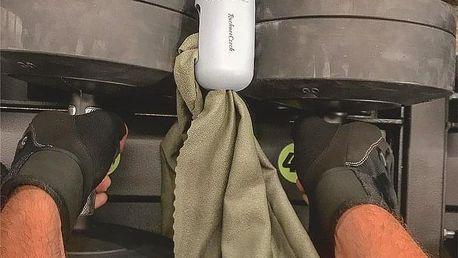 Unikátně balený ručník pro sportovce