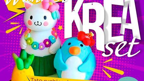 Balení Krea modelín nebo výroba slizu pro zábavu vašich dětí od 3 let