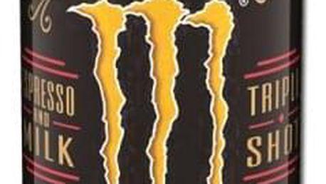 Espresso Monster energy drink 0,25 l ve dvou příchutích