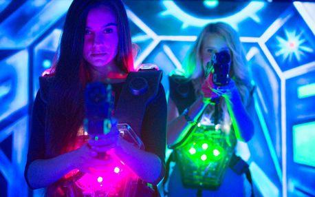 Hra v laser game aréně s nejlepší technikou