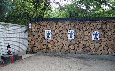 První vrhačská stěna v Praze: zábava pro 3 osoby na 90 minut